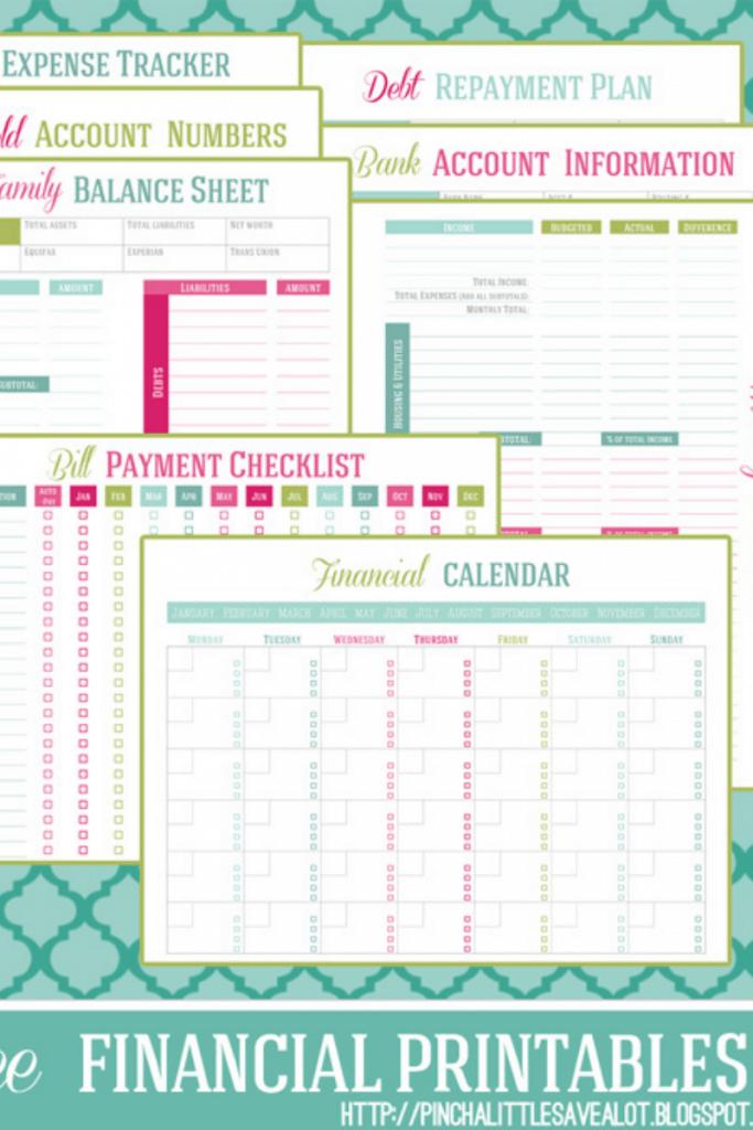 printable sheets for budgeting