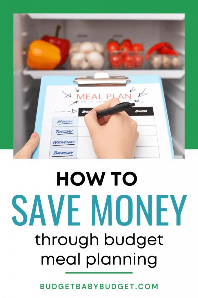 Title Slide Meal Planning on a Budget