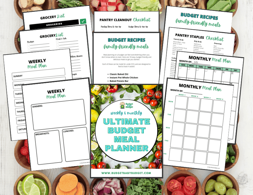 meal planner monthly and weekly