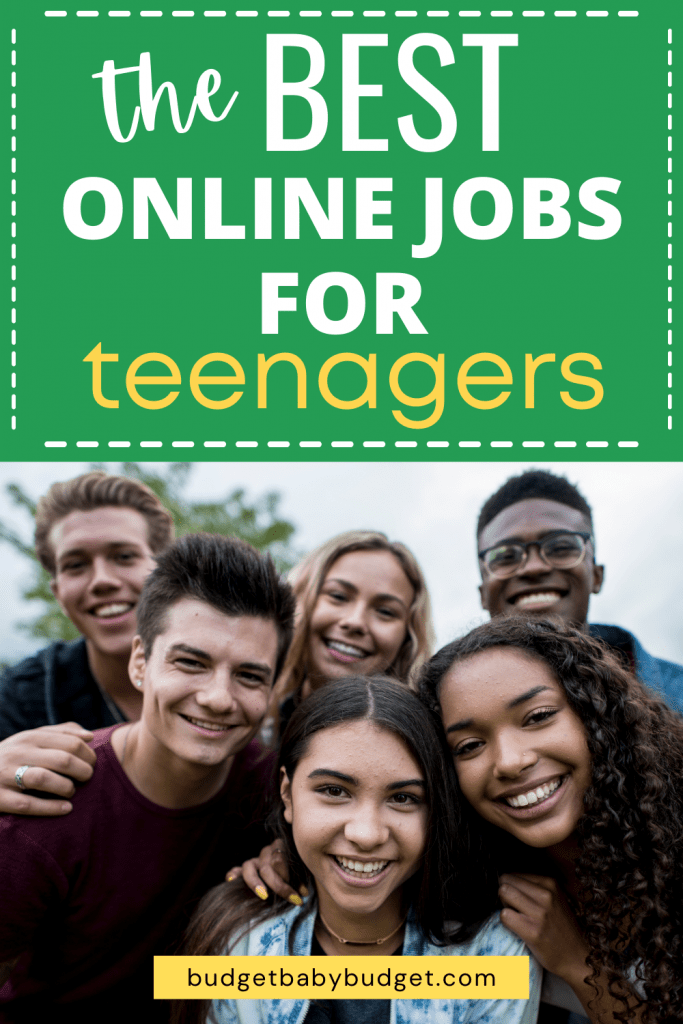 list of easy online jobs for teenagers