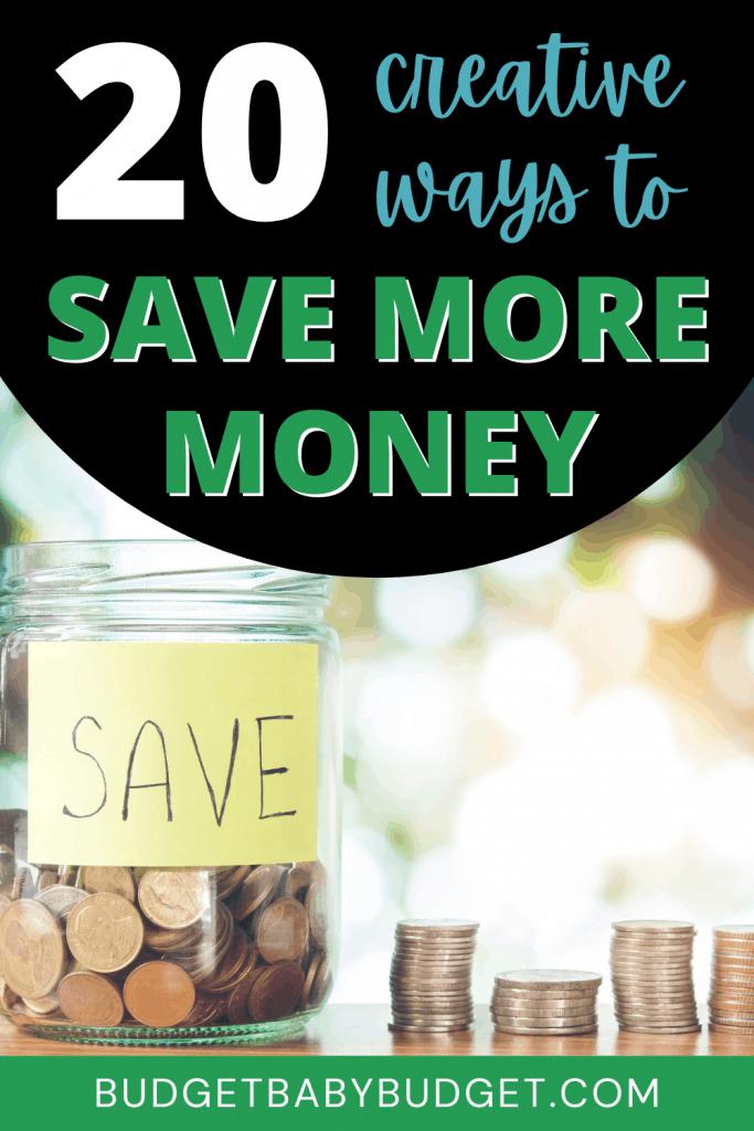 title image for saving money blog post