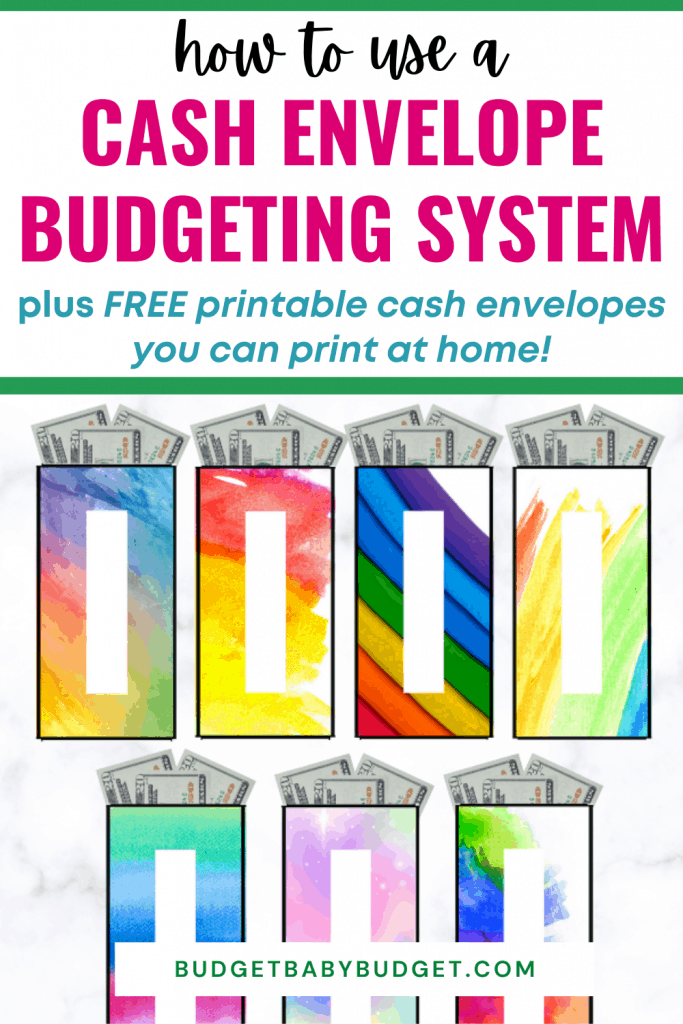 free printable cash envelopes for budgeting